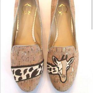 C wonder giraffe smoking slippers